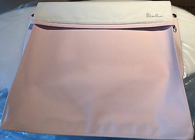 Silver Cross Dolls Oberon Coach Built Apron Pram Cover In Daisy Pink Chatsworth