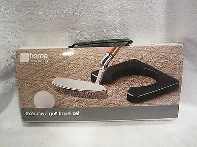 Travel Golf Putting Set in Travel Case, Never Used, Includes Putter, Ball, Case,