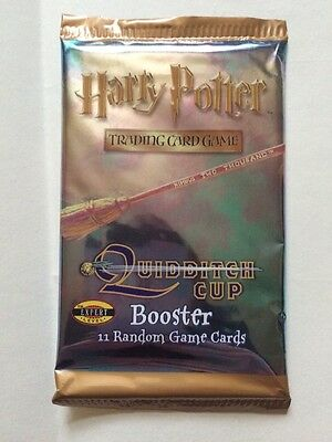 A Pack , Harry Potter Trading Card Game Titled Quidditch , Still Sealed In Pack