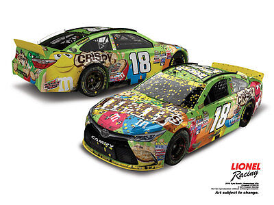 Kyle Busch 2015 M&m's Crispy Homestead Win 1/24Th 1 Of 2137 Ships From Canada