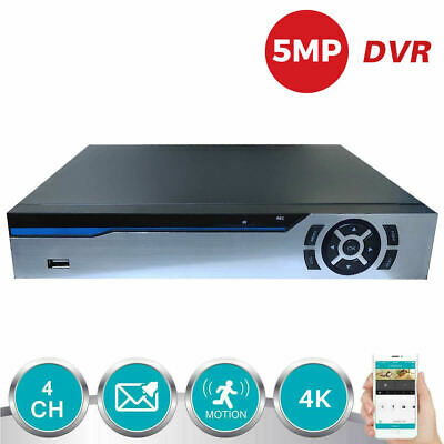 ANSPO 4 Channel CCTV DVR Recorder 4CH H.264 5-in-1 1080N 720P HD VGA HDMI BNC UK