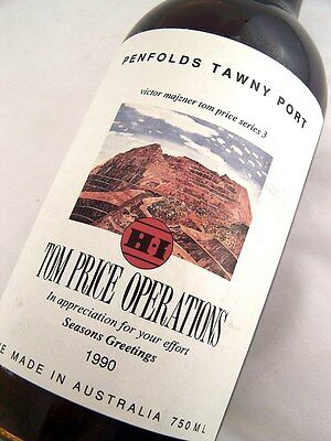 1990 PENFOLDS Tom Price Operations Tawny Port A Isle of Wine