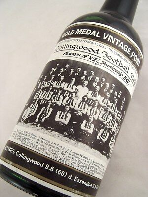 1902 Gold Medal Collingwood Premiership HOFFMANNS 1980 Vintage P Isle of Wine
