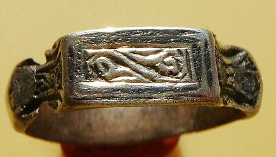 Medieval silver Ring 15-16 century