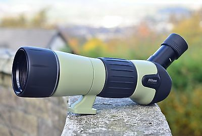 Nikon fieldscope III 60mm, 30xw and case, excellent condition!