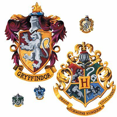 Harry Potter Crest Peel And Stick Giant Wall Decals