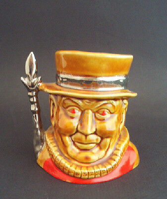Lord Nelson Pottery Ceramic BEEFEATER Toby Mug #93