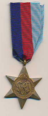 Original  WWII  1939-45 STAR Medal for British & Commonwealth Forces