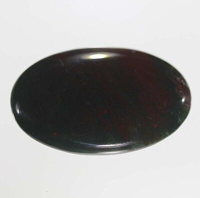 35 ct a+ natural adorable blood stone oval 22x35x6 untreated gemston