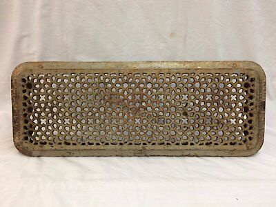 Antique Cast Iron Hot Water Steam Radiator Cover Plant Stand Garden Vtg 2278-16