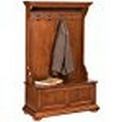 Home Styles Homestead Distressed Nutmeg Hall Tree Distressed Nutmeg 5527-49 NEW
