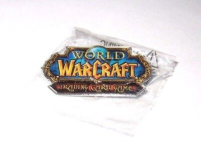 Rare Vintage New World Of Warcraft Trading Card Game Pin Button