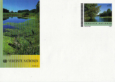 United Nations 1998 S 13 Scenic View Pre Paid Envelope Mint / Unused Vienna