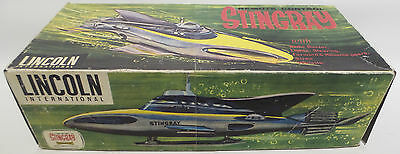 Stingray : Stingray Remote Control Toy Made By Lincoln Int Circa 1964