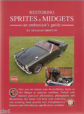 Restoring Austin Healey Sprite and MG Midget guide *NEW