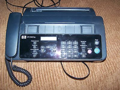 WORKING HP 2140 Fax with printed Manuel