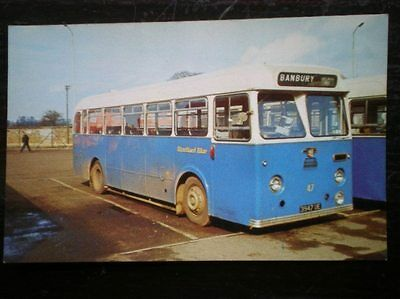 Postcard Rp Stratford Blue Bus No 47 - 1960 Leyland Tiger Cub Psuc1/1 With Park