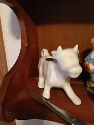 Set Of Two Cow Milk N Creamer Pours
