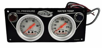 Economy 2 Gauge Panel Oil Pressure and Water Temperature