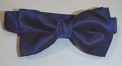 """Men's Formal Bow Tie and Long Tie, """"Ritz"""" by Perry Ellis, Navy Blue"""