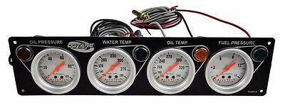 Octane 4 Gauge Oil Pressure-Water Temperature-Fuel Pressure Oil Temp Late Models