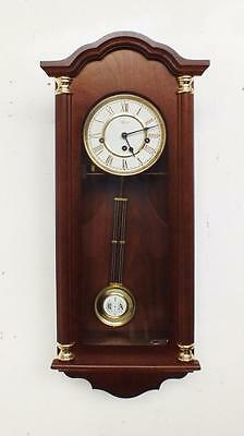 Beautiful Small Vintage 8 Day Franz Hermle Westminster Chime Musical Wall Clock