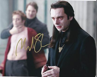 * Michael Sheen *  Twilight Genuine Hand Signed Autograph 10X8 Inch Photo