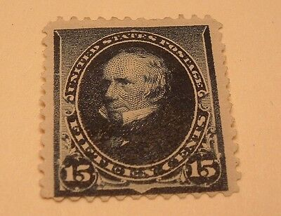 Scott #227 15C Perry 1890  Issue Mint
