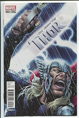The Unworthy Thor #2 Jim Cheung Variant Cover - Marvel Comics/2016 - 1/50
