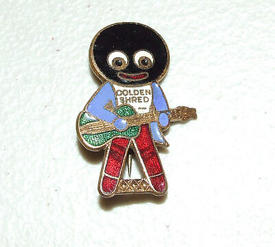VINTAGE 1930s BLACK AMERICANA ADVERTISING PIN ROBERTSON'S GOLDEN SHRED MARMALADE