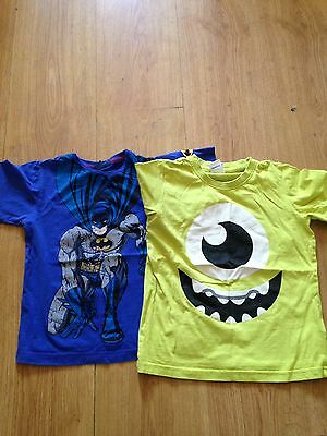 2 Boys T Shirts Age 5/6 Years