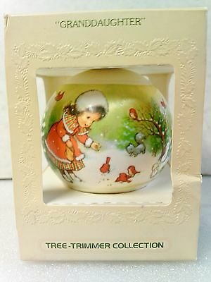"""Vintage 1979 """"Grandaughter"""" Tree Trimmer Collection By Hallmark"""