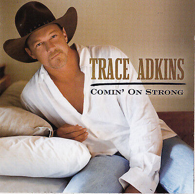 Trace Adkins STICKER Album Art Country Music Decal Comin on Strong NEW Cowboys