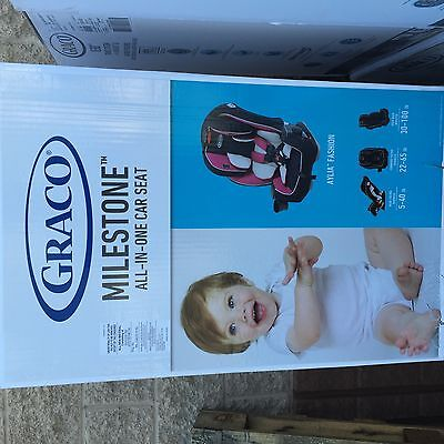 Brand New Graco Milestone All-In-One Baby Infant Child Toddler Car Seat - Aylia