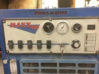 Hydra Master Truck Mount Carpet Cleaning Maxx 450 Tuthill Blower RUNS GOOD  USED