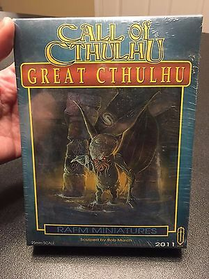 RAFM Miniatures Call of Cthulhu Great Cthulhu NEW SEALED in box