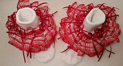 Baby Girl ruffle, & or tutu socks, good deal for special occasions, & pageants