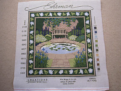 Completed Ehrman Tapestry Lily Pond Design by Edwin Belchamber