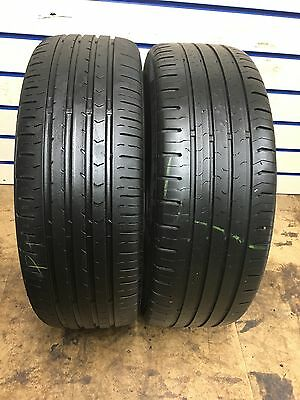 195 55 16 87H Continental ContiEcoContact 5 2x Tyres Free Fitting Available