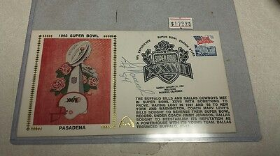 Dallas Cowboys Jay Novacek Autographed Super Bowl Envelope