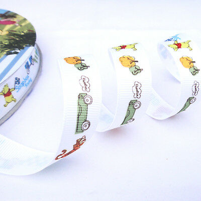 Free Shipping 5Yards 5/8 16mm printed Disney grosgrain ribbon GD020