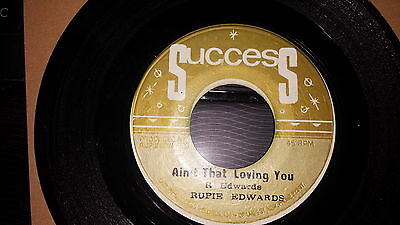 [Rare R/steady] Rupie Edwards - Aint That Loving You / Sweet Nanny   1968