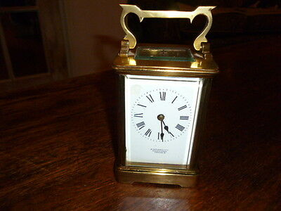 Carriage clock french movement ...London maker