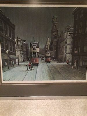 Arthur Delaney. Limited Edition Signed Print. 388 Of 450 Oxford Road Manchester.