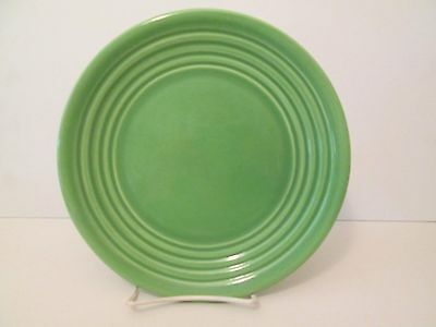 "Bauer Pottery Ring Green Salad Plate -8 1/2"" 1205E"