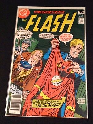 THE FLASH Vol. 30 #264 August 1978 DC Comics The Fastest Man Alive!