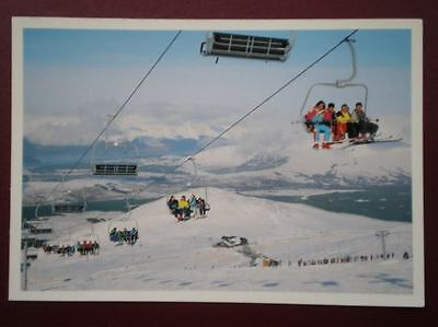 Postcard Inverness-Shire Aonach Mor Chairlift