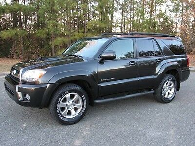 2008 Toyota 4Runner Sport Edition 08 Toyota 4Runner Sport Edition V6 4x4 S/Roof Best Color Records New Tires