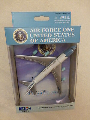 AIR FORCE ONE -  Diecast Model Aircraft 747 Jumbo Jet USA Presidents Plane