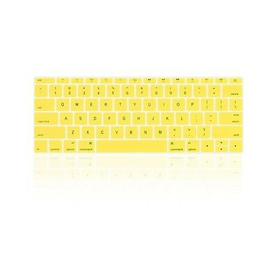 "YELLOW Keyboard Cover for Macbook Pro 13"" A1708 WITHOUT Touch Bar (Release 2016)"